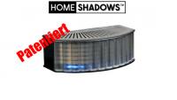 HomeShadows - sentationeller Schattensimulator!! Schreckt Einbrecher wirkungsvoll ab