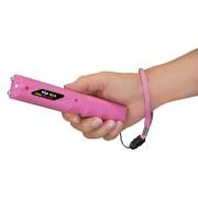 "Elektroschocker ZAP ""Stick"" 800,000 V mit LED in Pink - TOP!!"