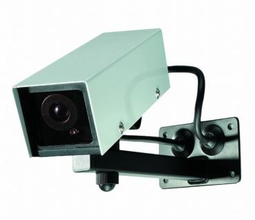 dummy boxkamera mit wetterschutzgeh use 101001. Black Bedroom Furniture Sets. Home Design Ideas